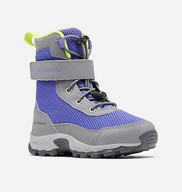 Little Kids' Hyper-Boreal™ Omni-Heat™ Waterproof Boot CHILDRENS HYPER-BOREAL™ OMNI-HEAT™ WP | 408 | 10, Purple Lotus, Voltage, 3/4 front