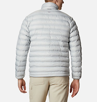 Men's Force XII™ Omni-Heat™ Heat Seal Puffy Jacket Force XII™ OH Heat Seal Puffy | 019 | M, Cool Grey, back