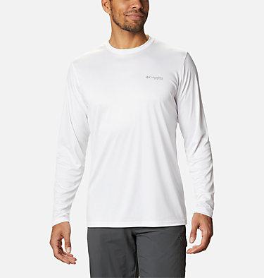 Men's PFG Terminal Tackle™ Vintage Fish Long Sleeve Shirt Terminal Tackle™ PFG Vintage Fish LS | 469 | XXL, White, Marlin, back