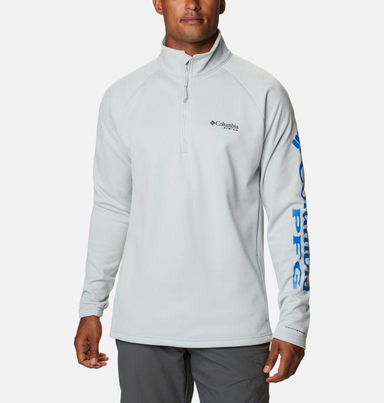 Men's PFG Terminal Tackle™ Quarter Zip Fleece Men's PFG Terminal Tackle™ Quarter Zip Fleece, front