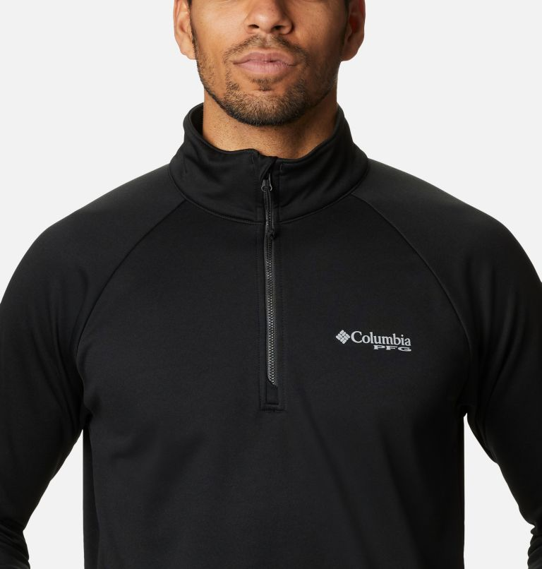 Men's PFG Terminal Tackle Quarter Zip Fleece - Tall Men's PFG Terminal Tackle Quarter Zip Fleece - Tall, a2