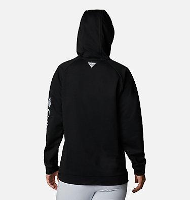 Women's PFG Tidal™ Fleece Hoodie Tidal™ Fleece Hoodie   010   S, Black, Cirrus Grey Logo, back