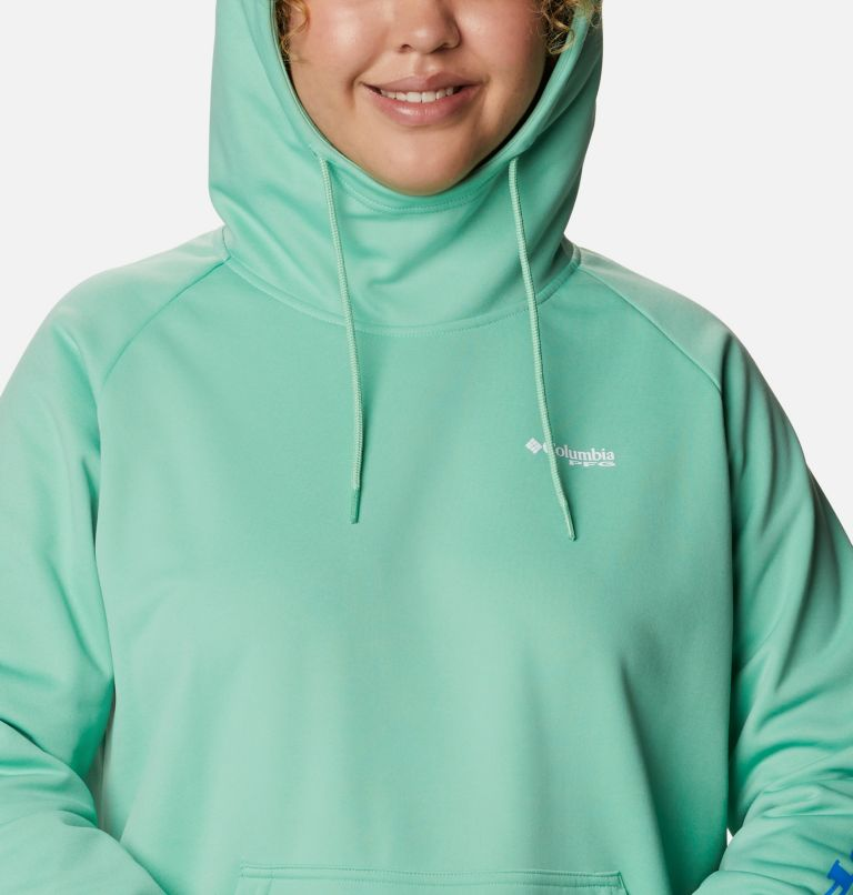 Women's PFG Tidal™ Fleece Hoodie - Plus Size Women's PFG Tidal™ Fleece Hoodie - Plus Size, a2