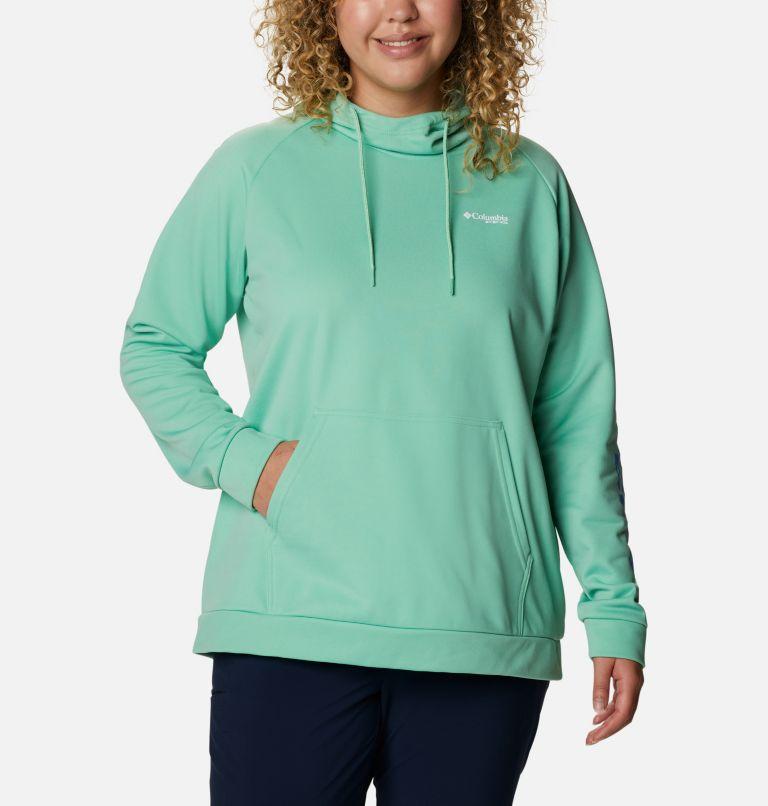 Women's PFG Tidal™ Fleece Hoodie - Plus Size Women's PFG Tidal™ Fleece Hoodie - Plus Size, front