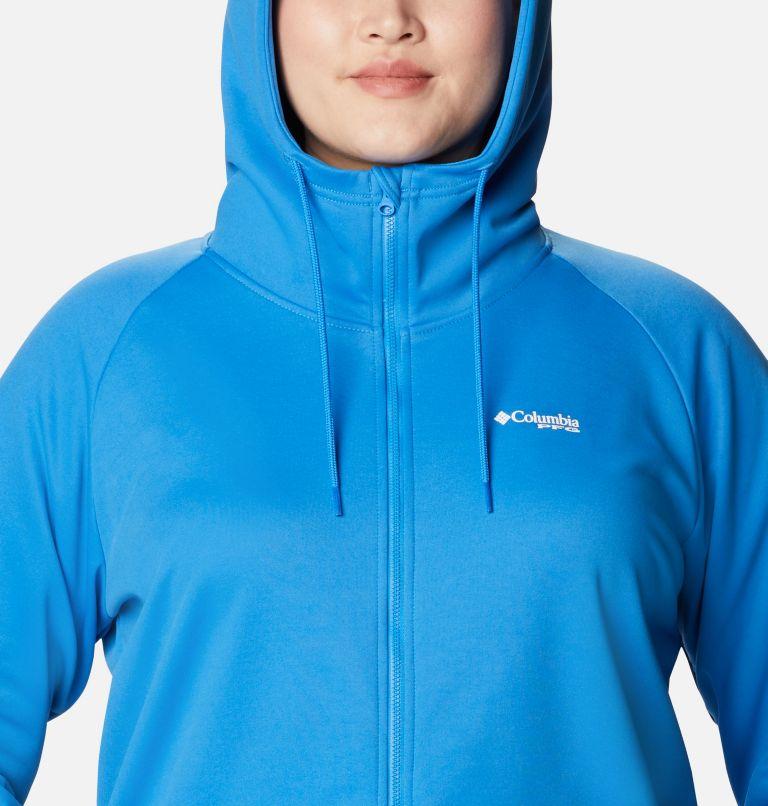 Women's PFG Tidal™ Fleece Full Zip Hoodie - Plus Size Women's PFG Tidal™ Fleece Full Zip Hoodie - Plus Size, a2