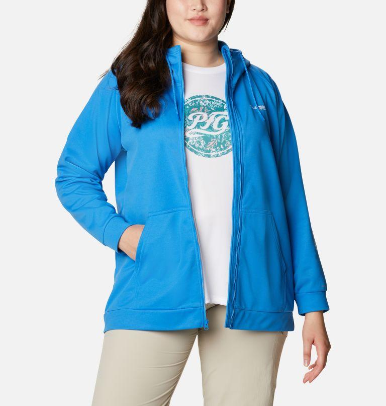 Women's PFG Tidal™ Fleece Full Zip Hoodie - Plus Size Women's PFG Tidal™ Fleece Full Zip Hoodie - Plus Size, a5