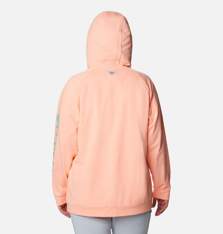 Women's PFG Tidal™ Fleece Full Zip Hoodie - Plus Size Women's PFG Tidal™ Fleece Full Zip Hoodie - Plus Size, back