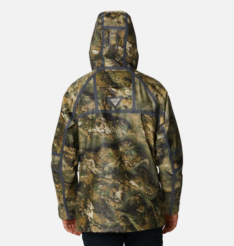 Trophy Rack™ ODX Jacket | 907 | L Men's PHG Trophy Rack™ OutDry™ Extreme Jacket, Mossy Oak Terra Floodplain, back
