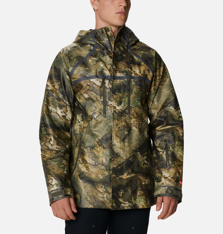 Trophy Rack™ ODX Jacket | 907 | L Men's PHG Trophy Rack™ OutDry™ Extreme Jacket, Mossy Oak Terra Floodplain, front