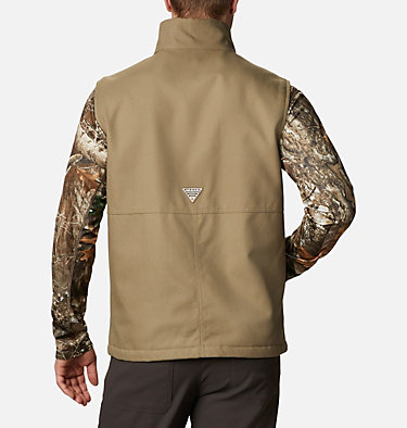 Men's PHG Roughtail™ Work Vest Roughtail™ Work Vest | 250 | XS, Flax, back