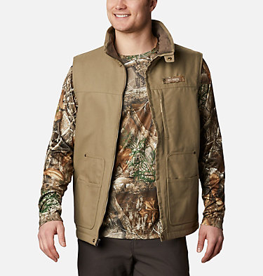 Men's PHG Roughtail™ Work Vest Roughtail™ Work Vest | 250 | XS, Flax, front