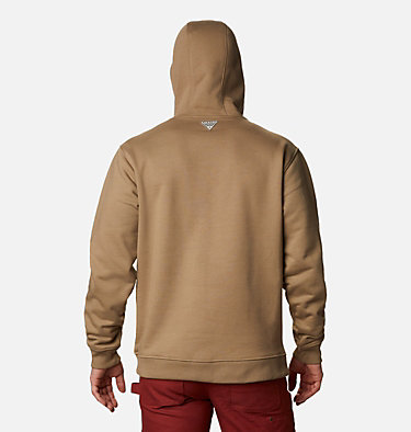 Men's PHG Roughtail™ Work Hoodie Roughtail™ Work Hoodie | 466 | XXL, Flax, back