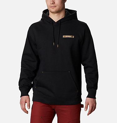 Men's Roughtail™ PHG Work Hoodie - Tall Roughtail™ Work Hoodie | 466 | XLT, Black, front