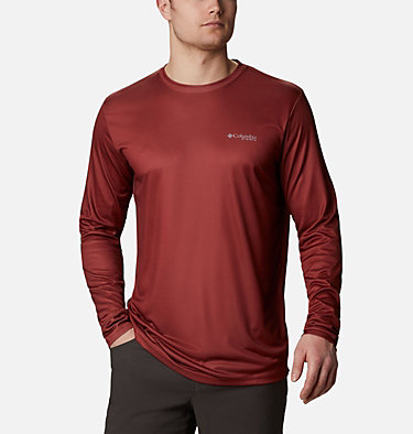 Men's PHG™ Terminal Shot Seasonal Graphic Long Sleeve Shirt PHG™ Terminal Shot Seasonal Graphic LS | 466 | XL, Red Oxide, Whitetail, back