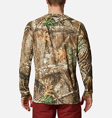 Men's PHG™ Super Terminal Shot Long Sleeve Shirt PHG™ Super Terminal Shot LS | 904 | XL, Realtree Edge, Blaze Logo, back