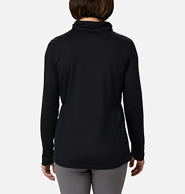Women's Piney Ridge™ Long Sleeve Knit Shirt Piney Ridge™ LS Knit | 584 | L, Black, back