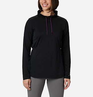 Women's Piney Ridge™ Long Sleeve Knit Shirt Piney Ridge™ LS Knit | 584 | L, Black, front