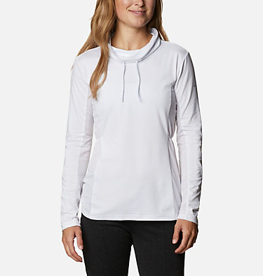 Women's Piney Ridge™ Long Sleeve Knit Shirt Piney Ridge™ LS Knit | 584 | L, White, front