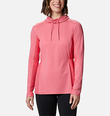 Women's Piney Ridge™ Long Sleeve Knit Shirt Piney Ridge™ LS Knit | 584 | L, Bright Geranium, front
