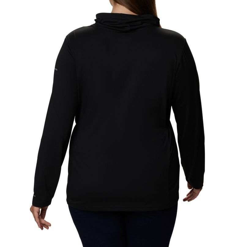Piney Ridge™ LS Knit | 010 | 3X Chandail à manches longues en tricot Piney Ridge™ pour femme - Grandes tailles, Black, back