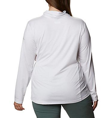 Women's Piney Ridge™ Long Sleeve Knit Shirt - Plus Size Piney Ridge™ LS Knit | 673 | 1X, White, back