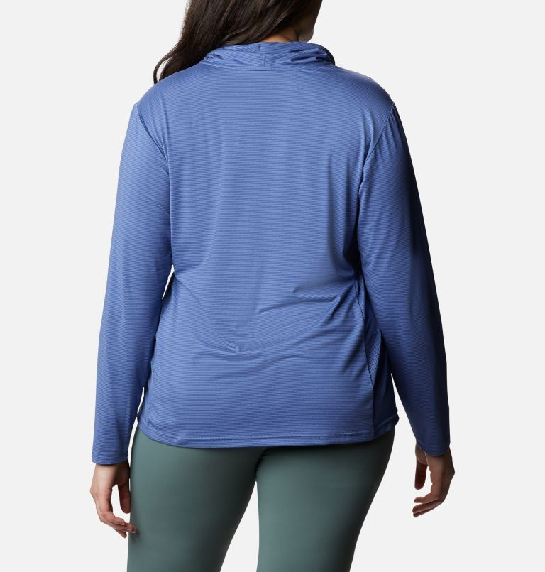 Women's Piney Ridge™ Long Sleeve Knit Shirt - Plus Size Women's Piney Ridge™ Long Sleeve Knit Shirt - Plus Size, back