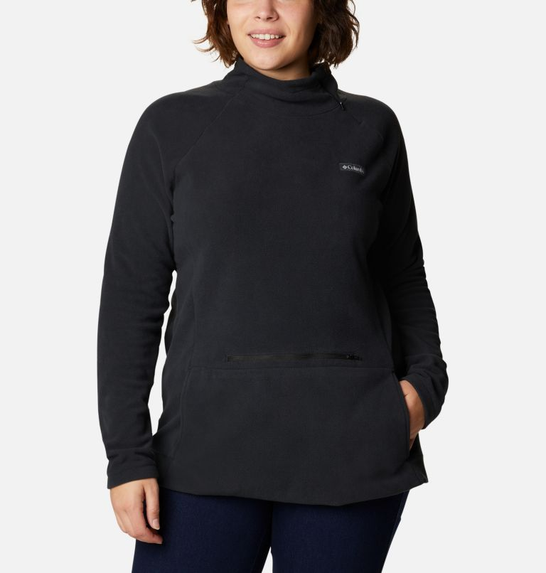 Chandail en laine polaire avec fermeture éclair 1/4 Ali Peak™ pour femme - Grandes tailles Chandail en laine polaire avec fermeture éclair 1/4 Ali Peak™ pour femme - Grandes tailles, front