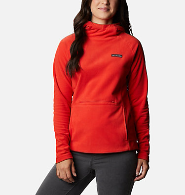 Women's Ali Peak™ Hooded Fleece Ali Peak™ Hooded Fleece | 031 | L, Bold Orange, front