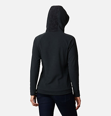 Polaire à capuche Ali Peak femme Ali Peak™ Hooded Fleece | 010 | L, Black, Brushstroke Floral Print, back