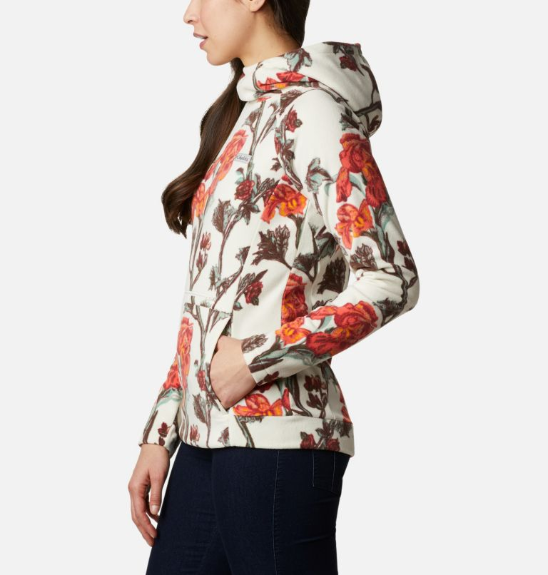 Ali Peak™ Hooded Fleece | 191 | M Women's Ali Peak Hooded Fleece, Chalk Botanica Print, a1