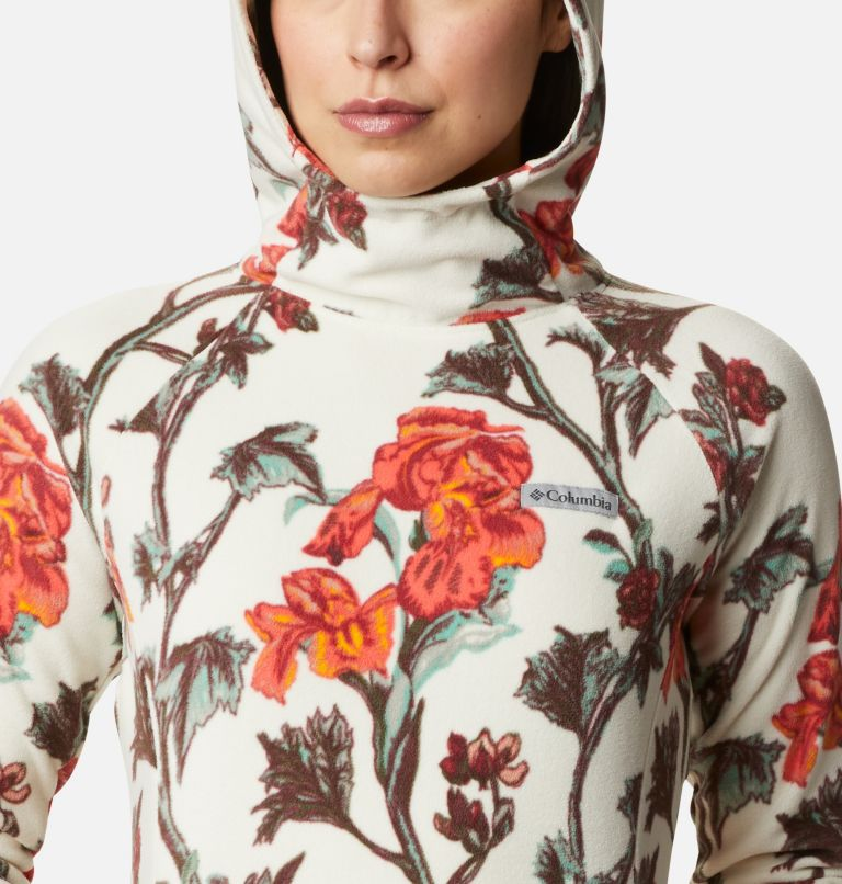 Ali Peak™ Hooded Fleece | 191 | M Women's Ali Peak Hooded Fleece, Chalk Botanica Print, a2