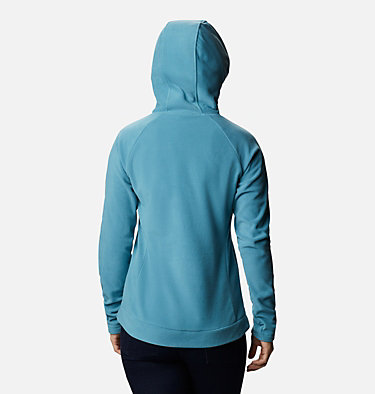 Pile con cappuccio Ali Peak da donna Ali Peak™ Hooded Fleece | 010 | L, Canyon Blue, back