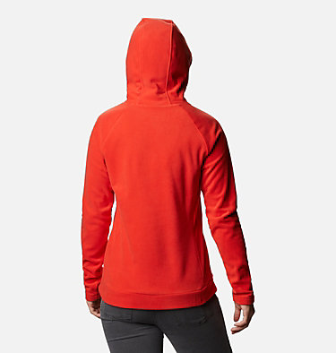 Pile con cappuccio Ali Peak da donna Ali Peak™ Hooded Fleece | 010 | L, Bold Orange, back
