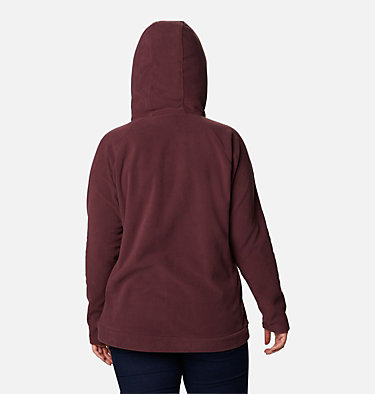 Women's Ali Peak™ Hooded Fleece - Plus Size Ali Peak™ Hooded Fleece | 031 | 1X, Malbec, back