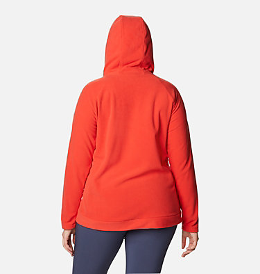 Women's Ali Peak™ Hooded Fleece - Plus Size Ali Peak™ Hooded Fleece | 031 | 1X, Bold Orange, back