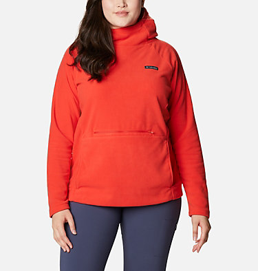 Women's Ali Peak™ Hooded Fleece - Plus Size Ali Peak™ Hooded Fleece | 031 | 1X, Bold Orange, front