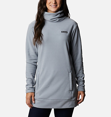 Women's Ali Peak™ Fleece Tunic Ali Peak™ Fleece Tunic | 472 | L, Tradewinds Grey, front