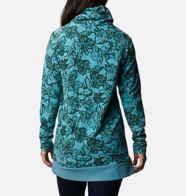 Women's Ali Peak™ Fleece Tunic Ali Peak™ Fleece Tunic | 191 | L, Canyon Blue, Brush Floral Print, back