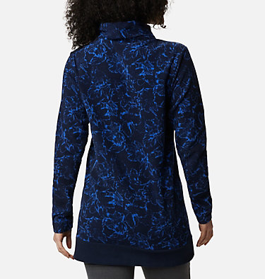 Women's Ali Peak™ Fleece Tunic Ali Peak™ Fleece Tunic | 472 | L, Dark Nocturnal, Brush Floral Print, back