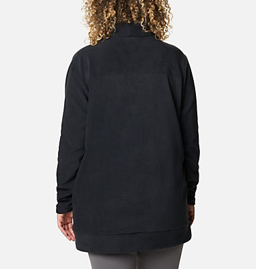 Women's Ali Peak™ Fleece Tunic - Plus Size Ali Peak™ Fleece Tunic | 010 | 1X, Black, back