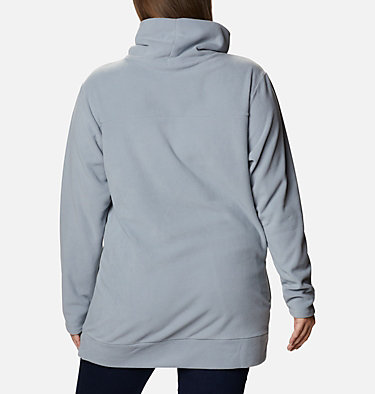 Women's Ali Peak™ Fleece Tunic - Plus Size Ali Peak™ Fleece Tunic | 010 | 1X, Tradewinds Grey, back