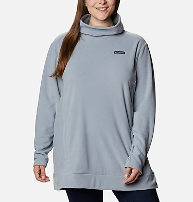 Women's Ali Peak™ Fleece Tunic - Plus Size Ali Peak™ Fleece Tunic | 010 | 1X, Tradewinds Grey, front