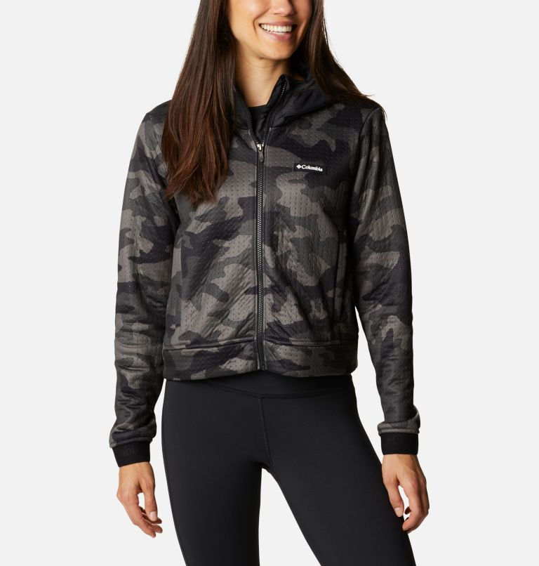 Women's Northern Canyon™ Hybrid Hoodie Women's Northern Canyon™ Hybrid Hoodie, front