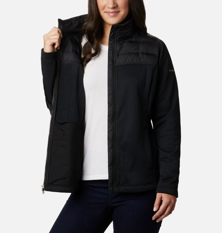 Northern Canyon™ Hybrid FZ | 010 | XS Women's Northern Canyon™ Hybrid Full Zip, Black, a3