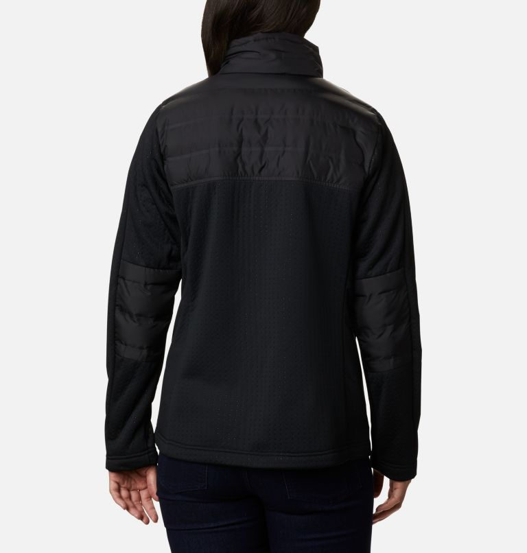 Northern Canyon™ Hybrid FZ | 010 | XS Women's Northern Canyon™ Hybrid Full Zip, Black, back