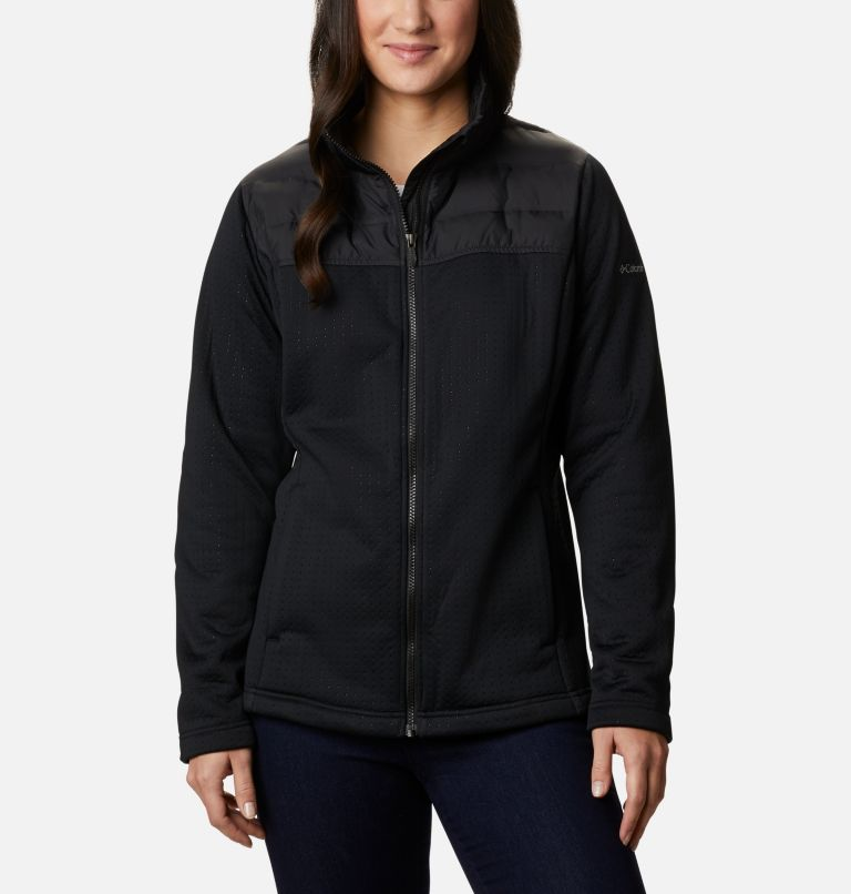 Northern Canyon™ Hybrid FZ | 010 | XS Women's Northern Canyon™ Hybrid Full Zip, Black, front
