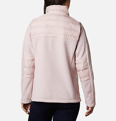 Women's Northern Canyon™ Hybrid Full Zip Northern Canyon™ Hybrid FZ | 010 | L, Mineral Pink, back