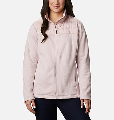 Women's Northern Canyon™ Hybrid Full Zip Northern Canyon™ Hybrid FZ | 010 | L, Mineral Pink, front