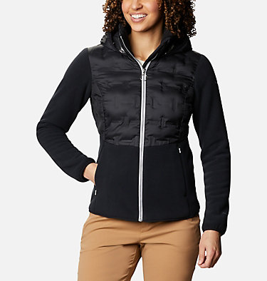Women's Delta Ridge Hybrid Fleece , front