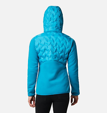 Women's Delta Ridge Hybrid Fleece Delta Ridge™ Hybrid Fleece FZ | 843 | L, Fjord Blue, back